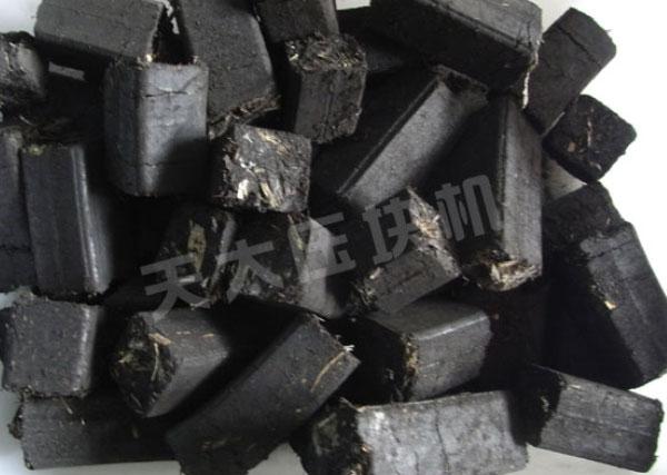 秸秆煤压块