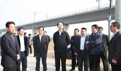 石家庄市市长王亮到我公司考察