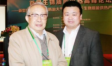 总经理杨小亮与石元春院士合影