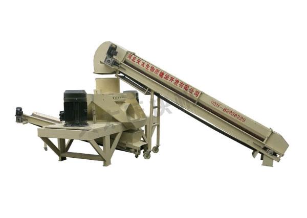 河南9-2000型棉柴压块机