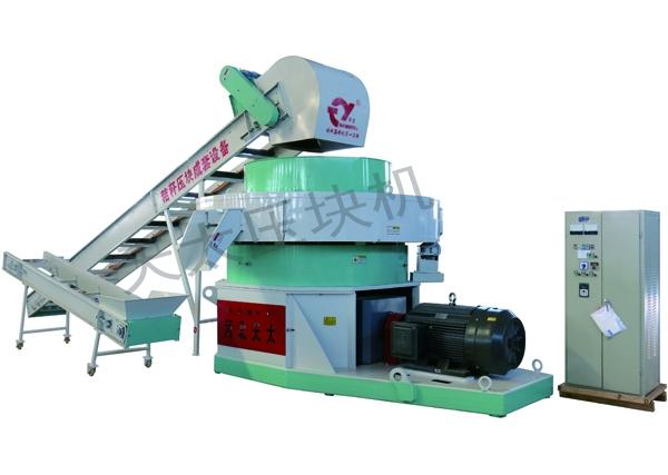 河南9K-6000型减速机式秸秆压块机